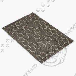 jaipur rugs mr02 3d model