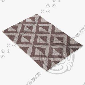 3d fbx jaipur rugs mea01