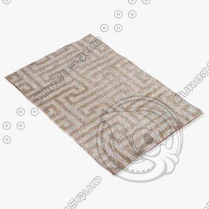 3d model jaipur rugs md28