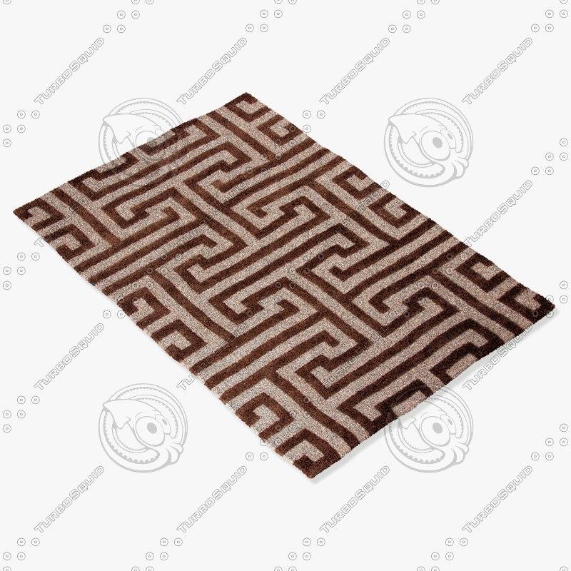 3d jaipur rugs md18 model