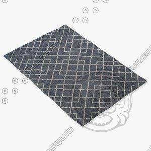 jaipur rugs man04 3d max