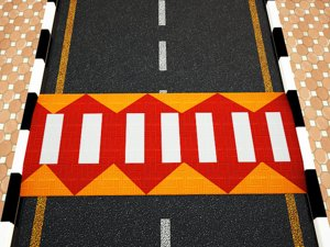 3d model of speed bump streets