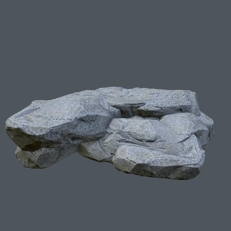 3d model ready stone
