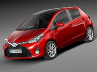 Toyota Yaris SE hatchback 5-door 2015