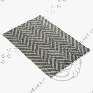 jaipur rugs loe16 3d model
