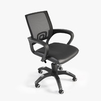 3d realistic office chair 1