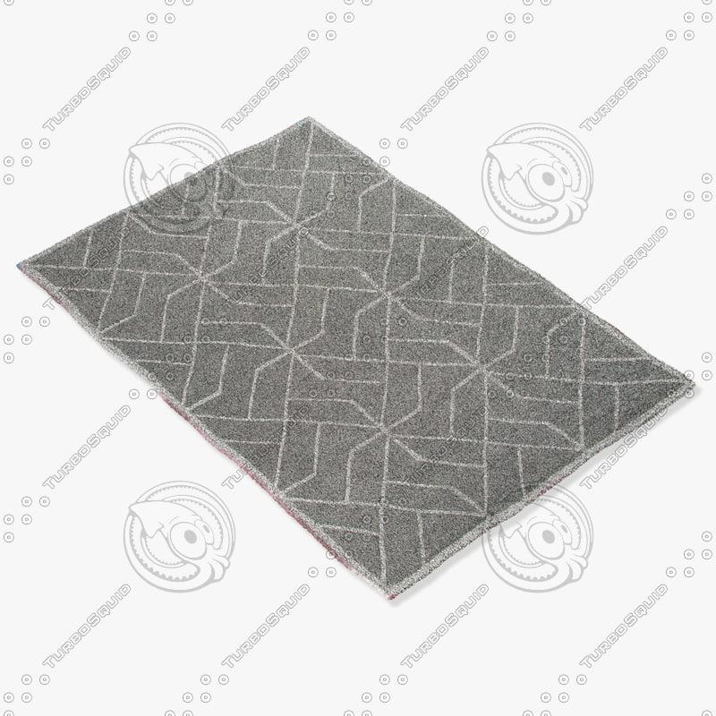 jaipur rugs loe15 3d model