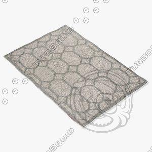 3d jaipur rugs loe09 model