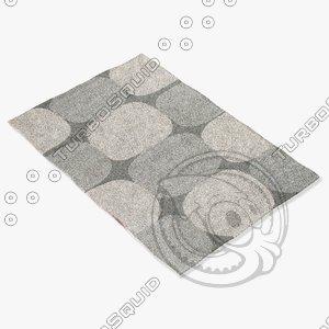 jaipur rugs loe07 3d model