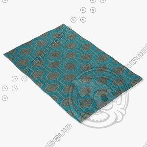 jaipur rugs loe05 3d model