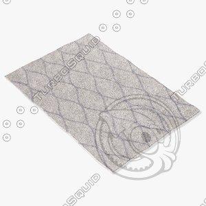 jaipur rugs loe02 3d max