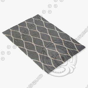 jaipur rugs loe01 3d 3ds