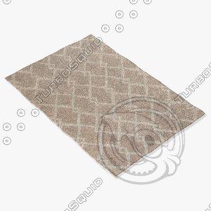 3d jaipur rugs loe03