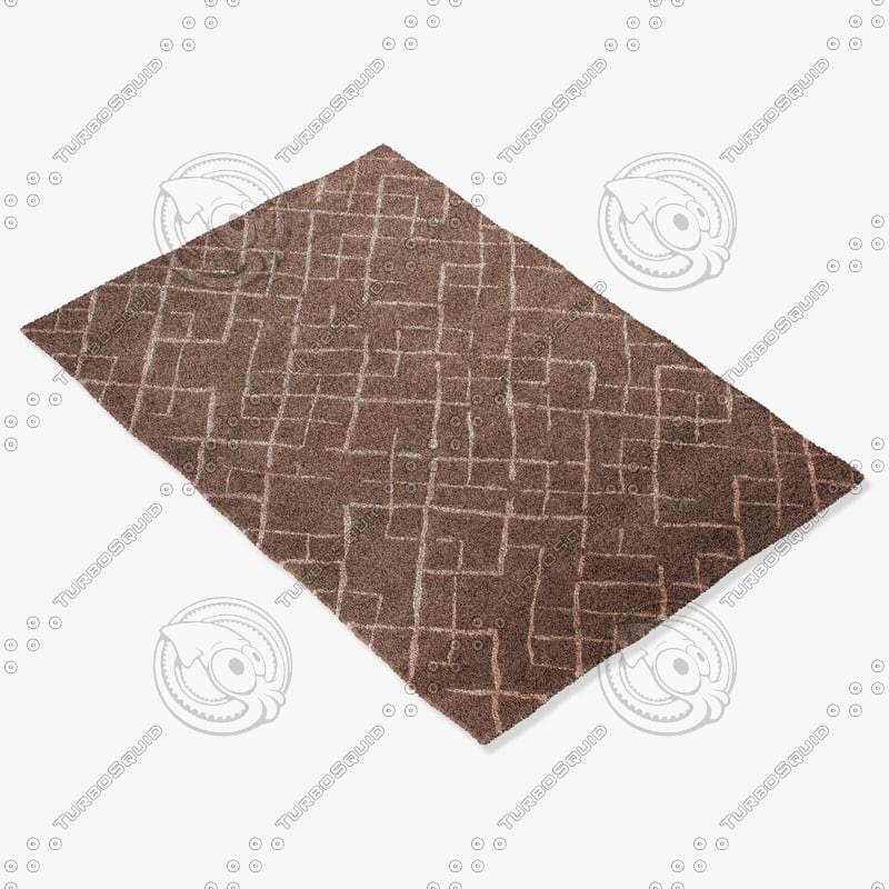 3d model jaipur rugs j247