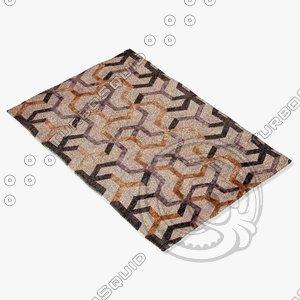jaipur rugs j243 3d model