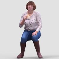 3d realistic human