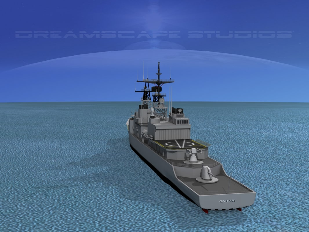 3d destroyers class spruance model