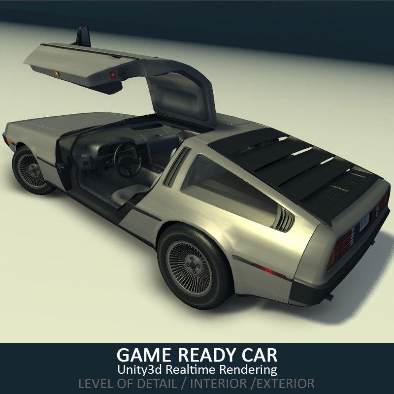 car ready 3d max