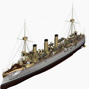 max gefion cruiser imperial german