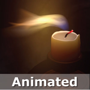 cinema4d candle animation