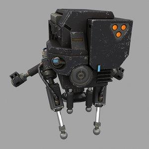 head soldier 3d model
