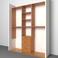 closet 3d max