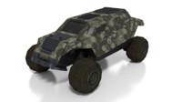 3dsmax heavy vehicle sci-fi