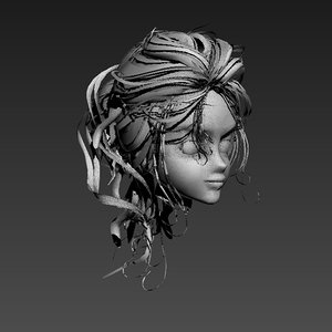 hair animation max free