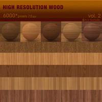 High Resolution Wood Textures Vol. 2 ( 5 PCS )