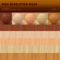High Resolution Wood Textures vol.1 ( 5 PCS )