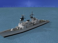 destroyers class spruance 3ds