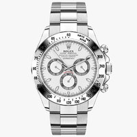Rolex Daytona Cosmograph Steel White Dial