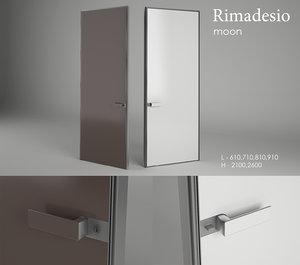 3d model moon rimadesio door