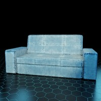 Jeans Chinese sofa 3d model