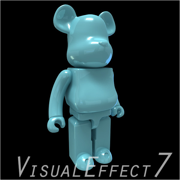 3d model cartoon light