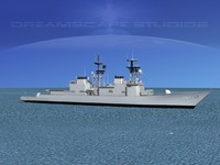 destroyers class spruance max