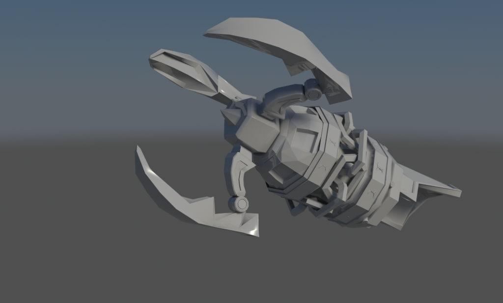 3d model clawshot link