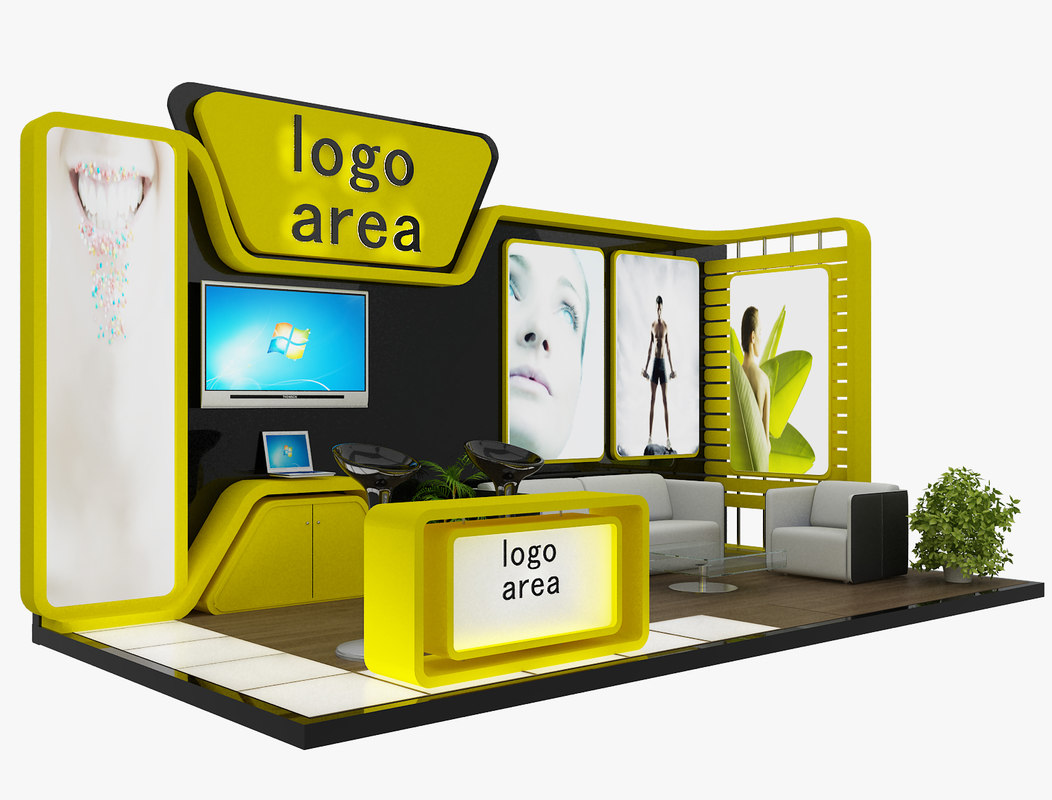 3ds max stand exhibition booth