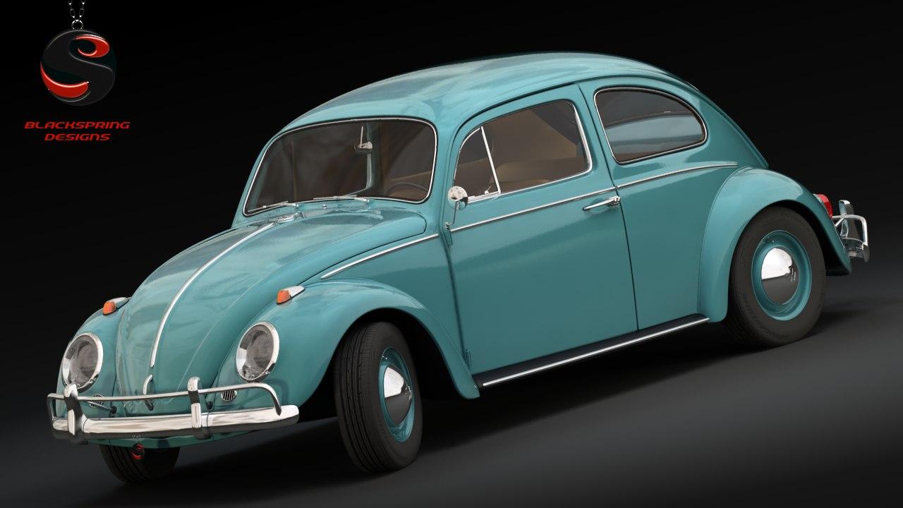 max volkswagen beetle 1963