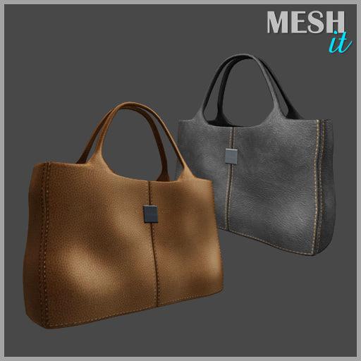 3d bag shop model