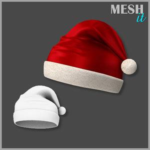 christmas hat obj