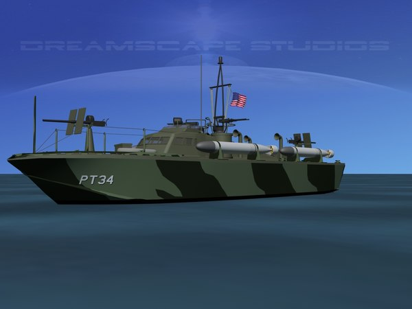 boat pt higgins classes 3d dxf
