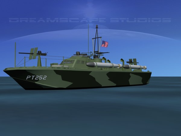 boat pt higgins classes 3d max