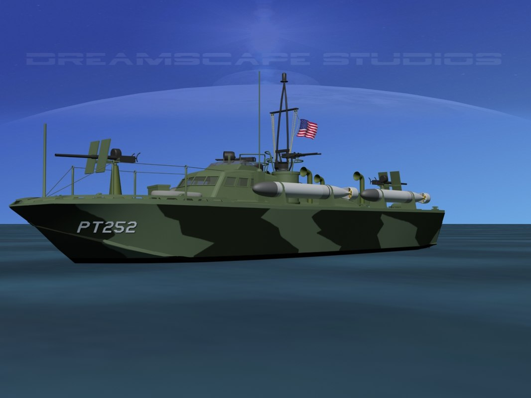 boat pt higgins classes 3d max