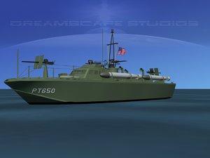 boat pt higgins classes 3d model