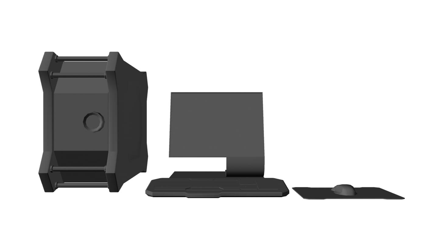 3dsmax personal computer monitor