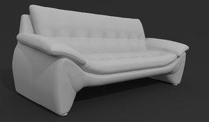 3D sofa modern chair model