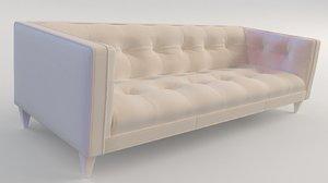3D sofa antique model