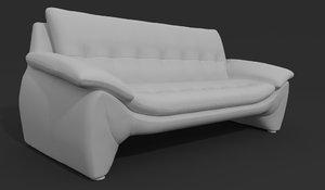 3D model sofa modern chair