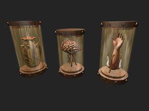 horror alien brain 3d 3ds
